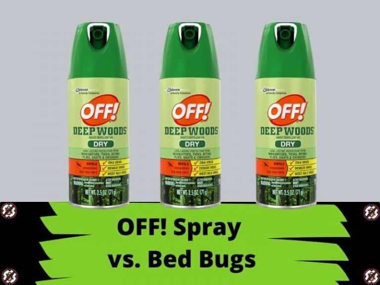 Does OFF! Spray Repel Bed Bugs?
